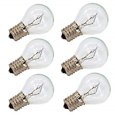 6 Pack S11 E17 Base 40 Watt Bulbs for Lava Lamps,Replacement Bulbs for Lava