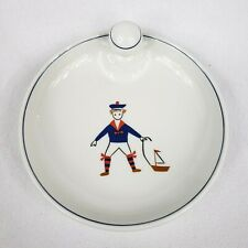 BABY DIOR HALLOW SOUP BOWL BOY WITH A BOAT CHRISTIAN DIOR NBD  LIMOGES FRANCE