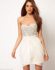 Lipsy Polyester Skater Short/Mini Dresses
