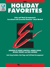Essential Elements Holiday Favorites Oboe Book with Online Audio 000870005