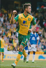 Ricky Van WOLFSWINKEL SIGNED Norwich Football 12x8 Photo AFTAL Autograph COA