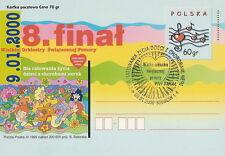 Poland postmark KRAKOW - VIII final WOSP (analogous)