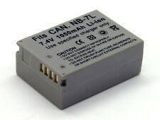 7.4V NB-7L Battery For Canon PowerShot G10 G11 G12 SX-30 SX30 IS SX30IS CAMERA