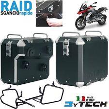 SIDE PANNIERS CASES RAID 41 + 47 QUICK RELEASE MYTECH BMW 1200 R GS K50 '13/'14
