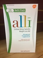 Orlistat 60 mg 120 Capsules Weight Loss Refill LOWEST PRICE exp 2018~2019A L L I