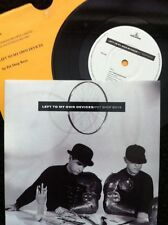 """Pet Shop Boys - Left To My Own Devices 7"""" Vinyl + 2 Sleeves Parlophone RS 6198"""