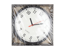 Black Wall Clock 22.5cm