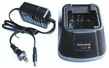 KNB-14A KNB-15A BATTERY CHARGER FOR KENWOOD TK-260G TK-360G TK-272G TK-372G