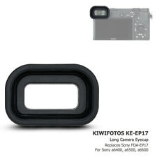 Extended Rubber Silicone Eyepiece Eye Cup for Sony A6600 A6500 A6400 as FDA-EP17