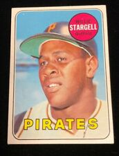 1969 Topps WILLIE STARGELL - Card #545 - Pittsburgh Pirates - Nice