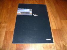 Chevrolet Astro Prospekt 1995