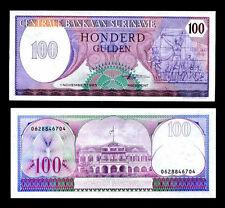 Surinam Suriname 100 Gulden 1985 Au / Unc P-128B