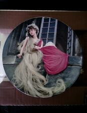Königszelt Bavaria Brothers Grimm Collector's Plate Rapunzel 1982 new in box