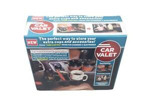 New Car Valet Instant Organization,2 Extra Cup Holders & Storage As Seen on TV
