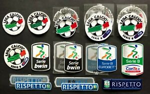 """TOPPA ufficiale VARIE STAGIONI """"SERIE B"""" * RESPECT official patch  mix seasons"""