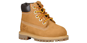 Timberland Toddler Boots 6 Inches Premium Wheat Nubuck TB012809
