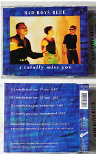 BAD BOYS BLUE - I Totally Miss You .. 1992 Coconut Maxi CD TOP