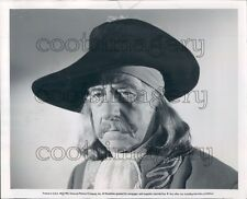 1952 Actor Robert Warwick as Pirate in Against All Flags Press Photo