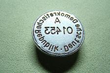 DDR Petschaft - Zoll Dienst Stempel Siegel Plombe - NVA MfS Staatssicherheit