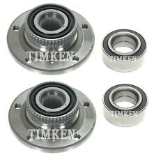 Front and Rear Wheel Bearings & Hubs Kit Timken For BMW E36 318i 325i E85 Z4 RWD