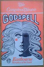 Godspell programme Eastbourne Congress Theatre 1974/1975 David Burt Su Pollard