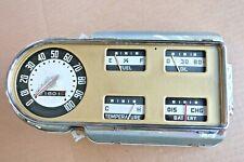 1948 1952 Ford F1 F6 Speedometer /Gauge Cluster Rat Hot Rod WORKS 1949 1950 1951