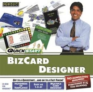 Quickstart BizCard Designer  Import your own photographs and graphics   NEW