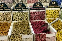 50 Incense Cones or 20 Back Flow Indian Incense Cones Many Fragrances