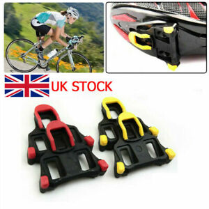 Road Bike Pedal Cleats For Shimano SM-SH11 SPD-SL Bicycle Fixed Cleats Set UK
