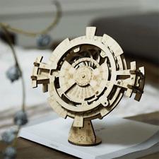 Rokr Puzzle 3d Wooden Perpetual Calendar Set Mechanical Building Model Kits UK