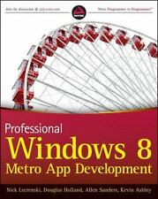 Professional Windows 8 Programming: Application Development with C# and XAML