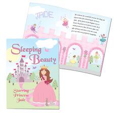 Personalised Sleeping Beauty Story Book Softback Christmas Birthday Gift