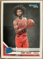 2019-20 Donruss Rated Rookie Coby White #206 RC Rookie