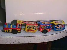 Vintage Cragstan Wind-Up Toy Comic Circus Train