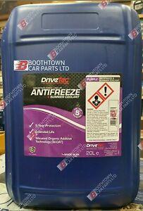 20 Ltr Drivetec Purple G13 Anti Freeze & Summer Coolant 20L  NEW -35 to 135c