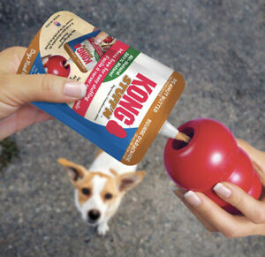 KONG Stuff N Easy Treat Peanut Butter Paste For Kong  Dog Toy 170gms