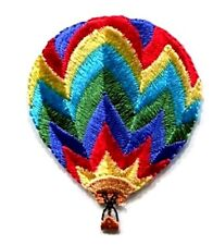 HOT AIR BALLOON IRON ON PATCH APPLIQUE