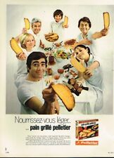 I- Publicité Advertising 1970 Le pain Grillé Pelletier