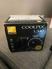 *Nikon Coolpix L340 20.2 MP Digital Camera +28x Optical Zoom and 3.0-Inch BLACK
