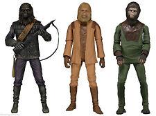 Classic Planet Of The Apes series 1 action figure set~Cornelius~Zaius~Neca~ Nib