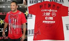Krzysztof Soszynski & Dan Henderson Signed StrikeForce Fight Worn Shirt PSA/DNA