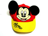 Disney Mickey Mouse Boys Red Baseball Cap Adjustable Hat Kids Toy Toddler