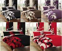 Grandeur Duvet Set 3 PCs Duvet Cover Set Quilt Cover Set Bedding Set Bed Set