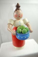 Erzgebirge Dregeno Dumpling Woman Klöße Steaming Needlework Vintage (K72