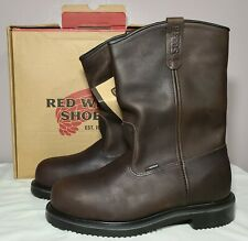 """RED WING 2230 Size 11.5  Mens 11"""" Waterproof Steel Toe Work Boots MSRP $264 NEW"""