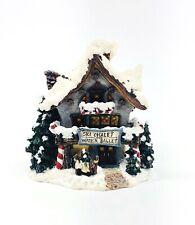 Boyds Bear Bearly Built Villages Mooselfluffs Ski Chalet Water & Ballet 19037