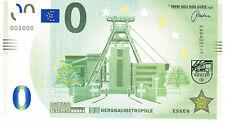 MEMOEURO 0 Euro Schein ESSEN - Bergbaumetropole - Souvenirschein - grün