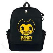 Bendy And The Ink Machine Thickened Canvas Backpack Knapsack School Travel Bag