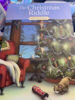 The Christmas Riddle by Susan Sleeman Antique Shop Mysteries HC Book MINT