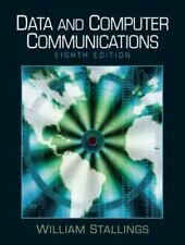 Data and Computer Communications (8th Edition) Stallings, William Hardcover